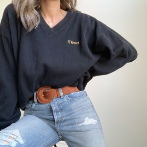 Vintage Mead Slouchy Pullover